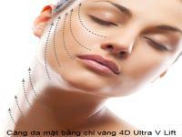 Tìm hiểu về chỉ ultra v-lifr 4d căng da trẻ hóa da
