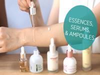 Ampoule, serum, essence là gì