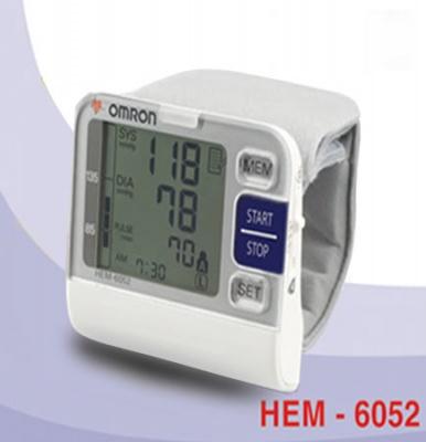 huyết áp thấp, máy đo huyết áp omron hem-6052