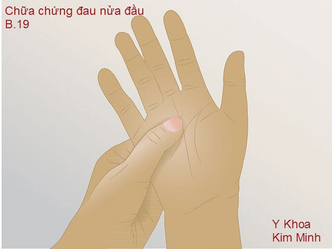 Tập phản xạ lá gan trên bàn tay bằng bấm day huyệt đạo