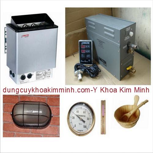 Bộ máy xông hơi nóng Sauna Gunsan Y Khoa Kim Minh