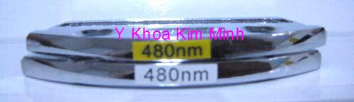 Kinh lọc ánh sáng IPL 480nm dùng điều trị nám máy triệt lông Elight Y Khoa Kim Minh