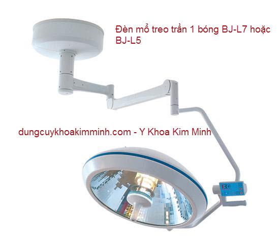 Đèn mổ treo trần 1 bóng BJ-L7 Y Khoa Kim Minh