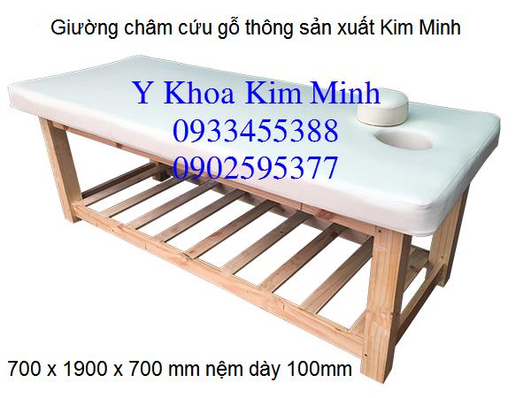 Cong ty san xuat giuong massage cham cuu tai Sai Gon TpHCM va Ha Noi