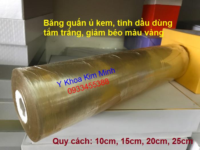 Bang keo u quan bung dung trong tham my spa ban tai Y khoa Kim Minh