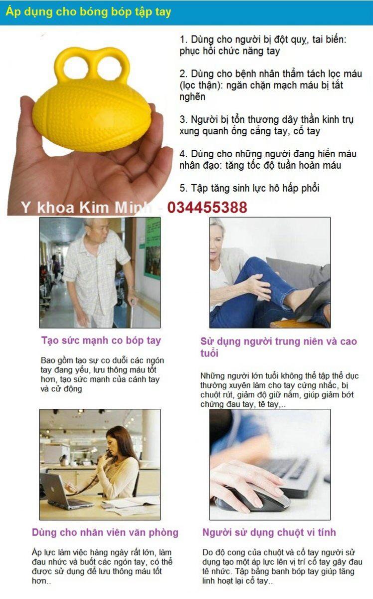 Noi ban banh tap manh tay bang cach bop co gian hinh o van bau duc - Y Khoa Kim Minh