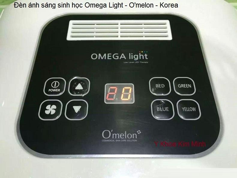 Đèn ánh sáng sinh học chăm sóc da omega omelon Han Quoc Y Khoa Kim Minh