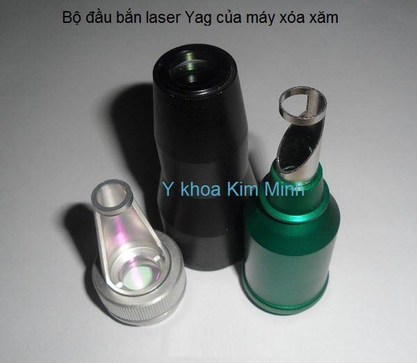 Bộ đầu bắn máy laser xóa xăm Y Khoa Kim Minh