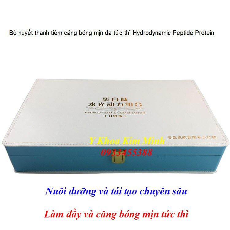 Bộ serum tiêm căng bóng mịn da tức thì Hydrodynamic Peptide Protein - Y khoa Kim Minh 0933455388