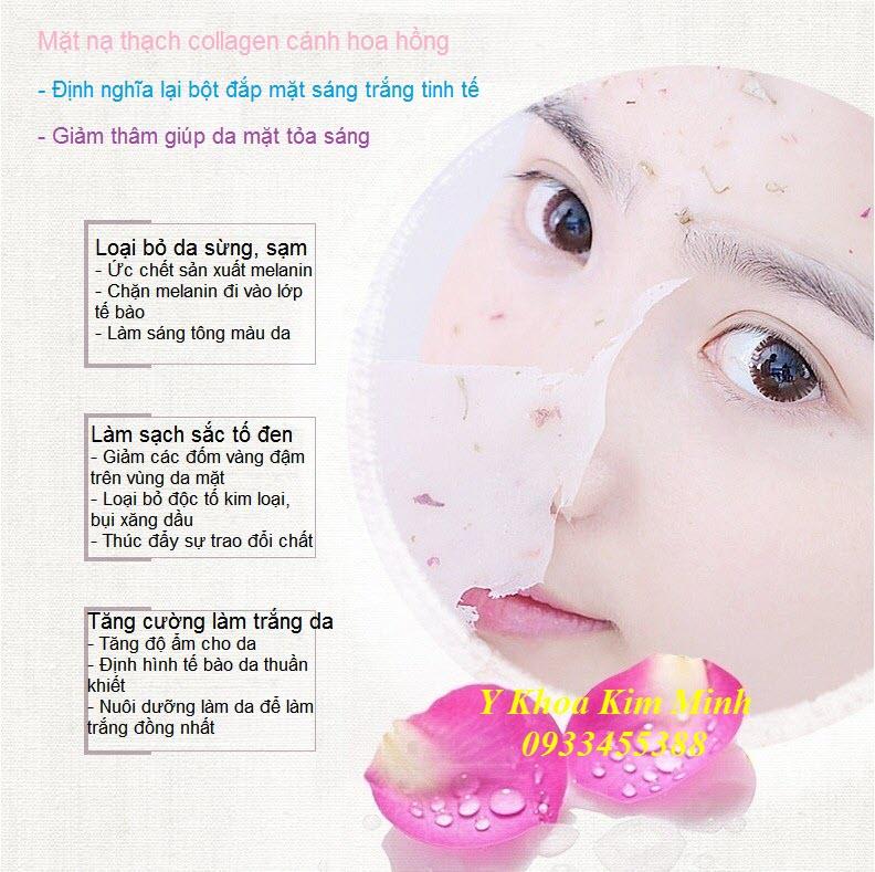 Cung cap bot mat na thach collagen canh hoa hong tai Y Khoa Kim Minh Tp Ho Chi Minh -09334555388