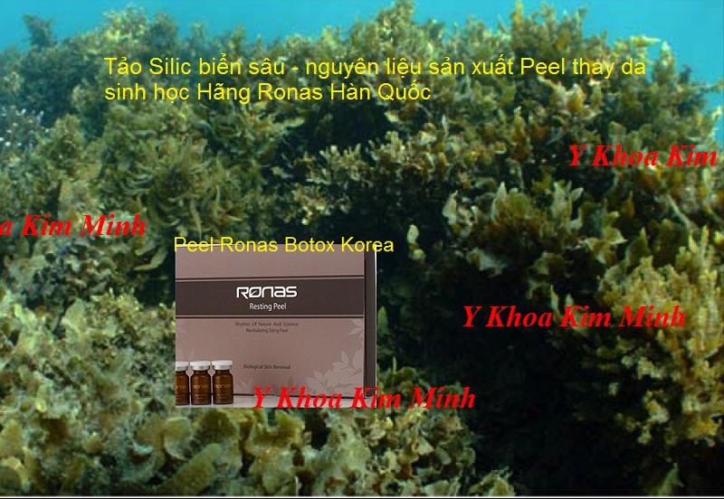 Peel Ronas vi kim tảo biển thay da sinh học Hàn Quốc bán  tại Y khoa Kim Minh