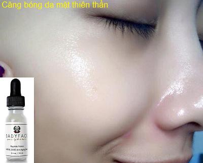 Căng bóng da mặt thiên thần baby face nhập khẩu Nhật - Y khoa Kim Minh 0933455388