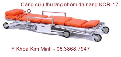 Băng ca xếp xe cấp cứu bằng nhôm KCR-17