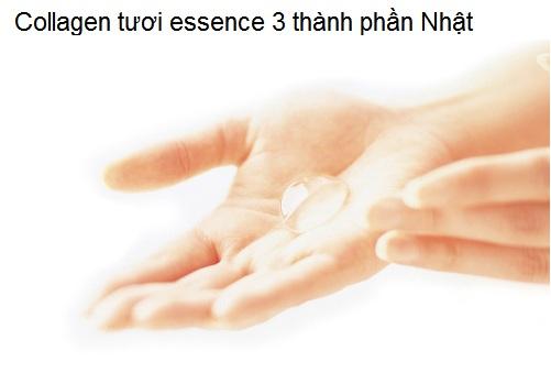 Collagen tuoi essence 3 thanh phan cham soc dieu tri da 3 tầng nhật ban Y khoa Kim Minh nhap khau phan phoi gia si
