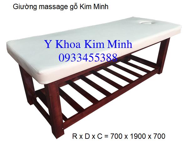 Cong ty ban giuong massage go Y Khoa Kim Minh tai mien Bac Nam Sai gon