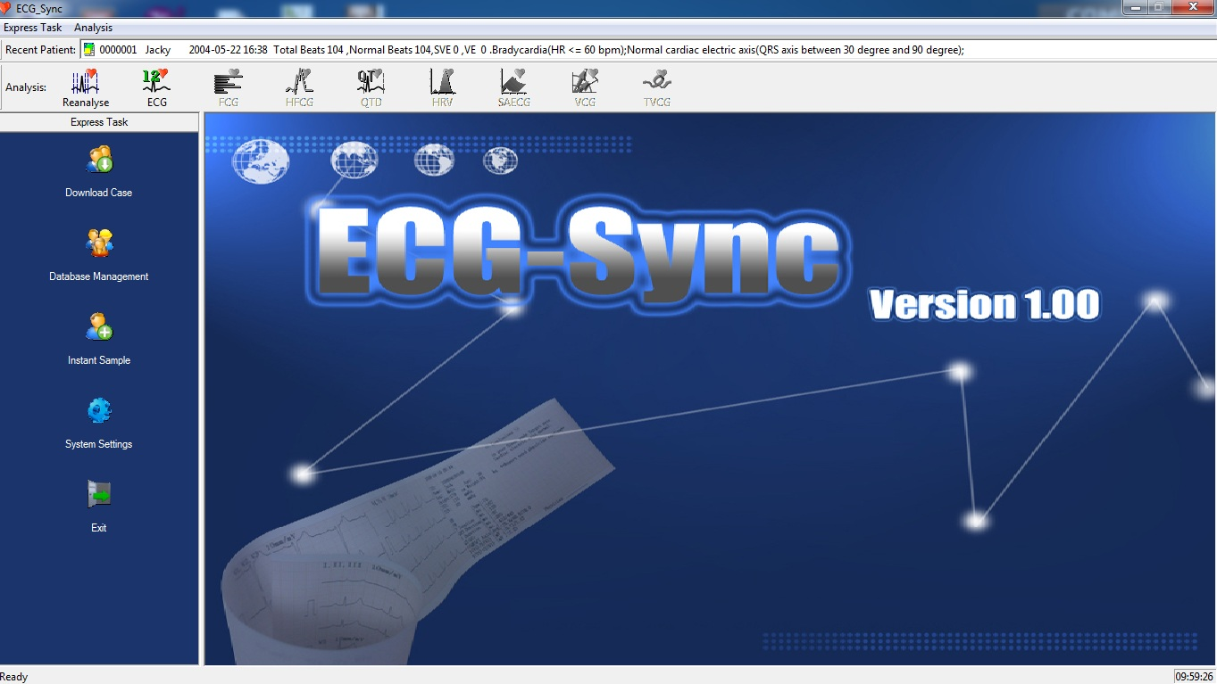 Contec 3 cần 300G màn hình màu kết nối máy tính thời gian thực sử dụng teamview Y Khoa Kim Minh