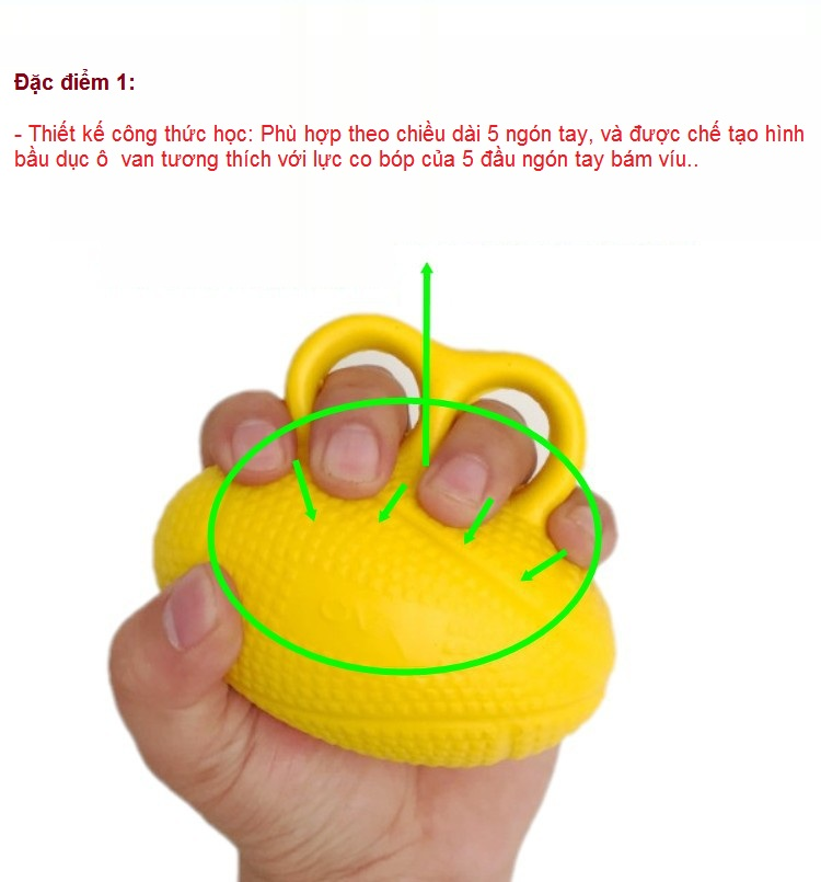 Dac diem 1: Banh bop tap manh tay cho nguoi tap vat ly tri lieu phuc hoi chuc nang - Y Khoa Kim Minh