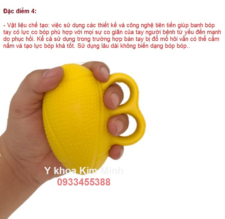 Dac diem 4 banh bop cho nguoi bi liet phuc hoi chuc nang vat ly tri lieu - Y Khoa Kim Minh
