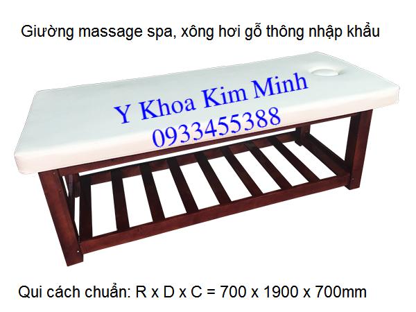 Dia chi ban giuong massage go xong hoi gia si Y Khoa Kim Minh