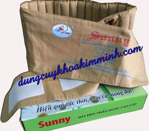 Đai quấn giảm béo bằng thảo dược Suny