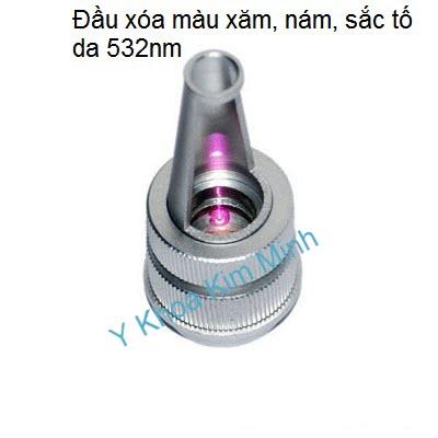 Đầu laser bắn xóa xăm 532nm Y Khoa Kim Minh