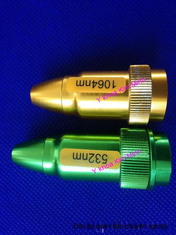 Công ty nhập khẩu bán đầu bắn laser 532nm, 1064nm, 1320nm chuyên nghiệp Y Khoa Kim Minh