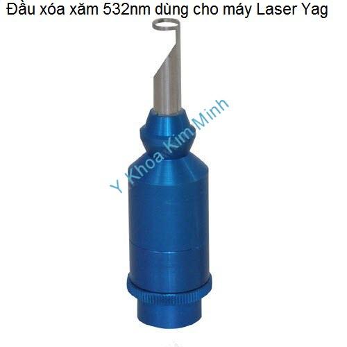Đầu laser 532nm máy xóa xăm laser yag chuyên nghiệp Y Khoa Kim Minh