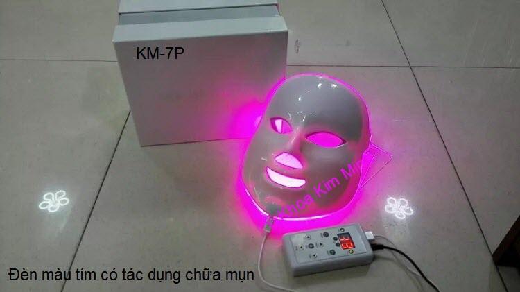 Cong ty ban mat na sinh hoc u trang da tri mun 7 mau bio led KM-7P Y khoa Kim Minh
