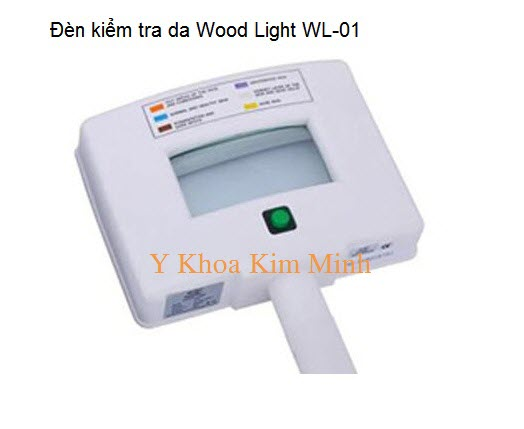 Den cuc tim UV kiem tra da Wood Light WL-01 Y Khoa Kim Minh