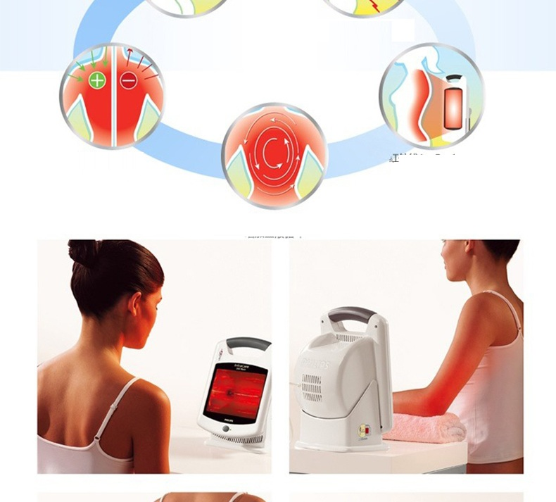 Đèn vật lý trị liệu hồng ngoại philips HP3621