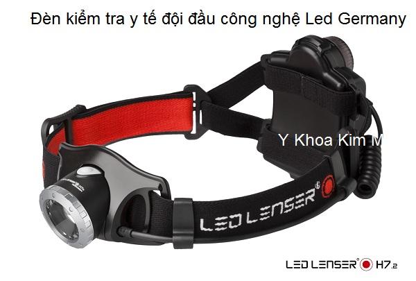Đèn đội đầu khám tổng quát Led Lenser H7.2 Y Khoa Kim Minh