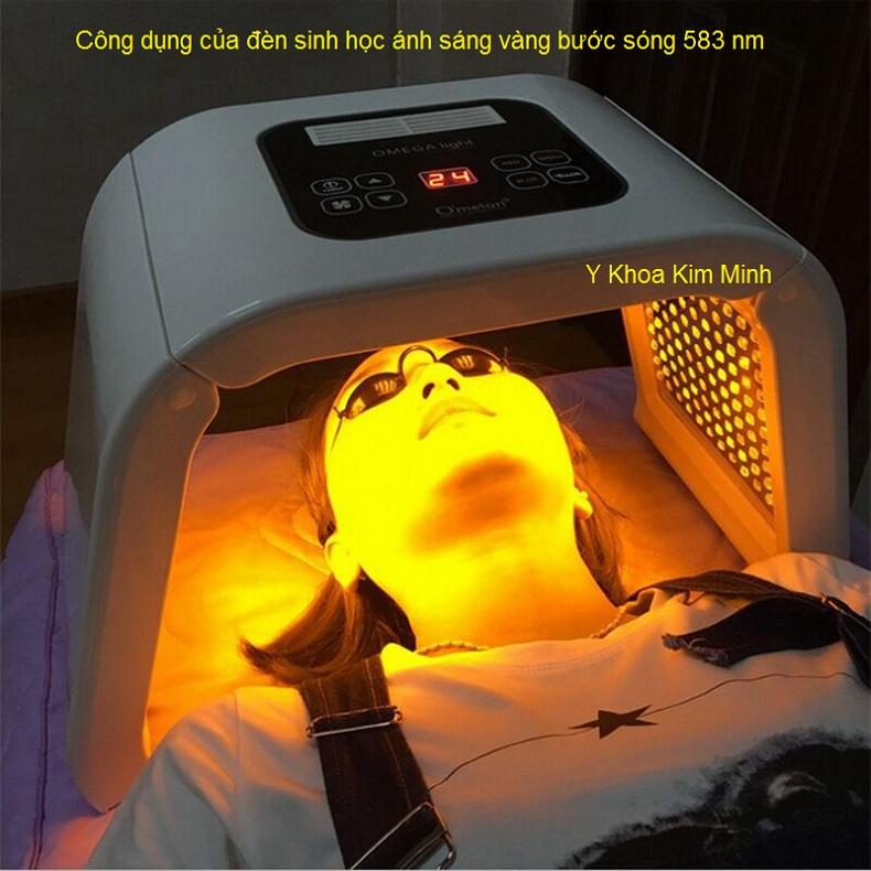 Den sinh hoc Omega Light Omelon 4 màu Hàn quốc Y Khoa kim mInh bán tại tp hochiminh