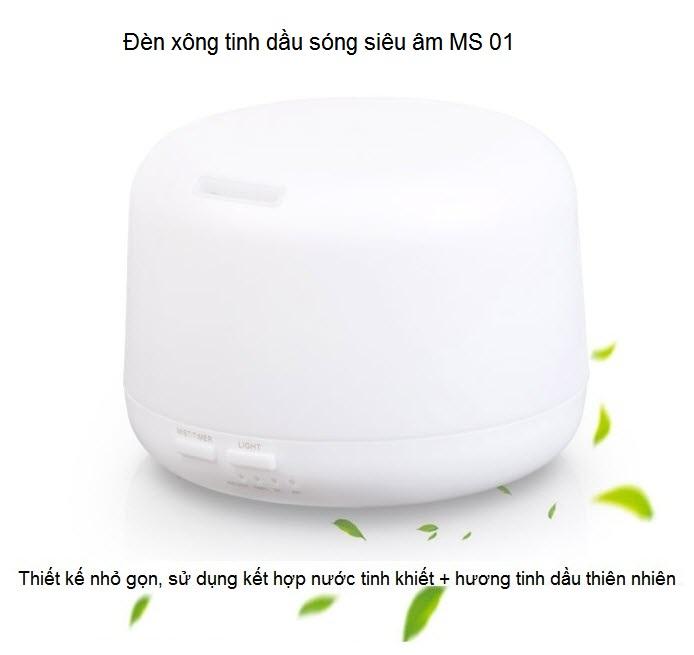 Den xong tinh dau thien nhien song sieu am ultrasonic MS 01 noi ban tai Y Khoa Kim Minh tp ho chi minh