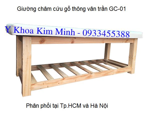 Dia chi ban giuong massage cham cuu inox va go thong Y Khoa Kim Minh