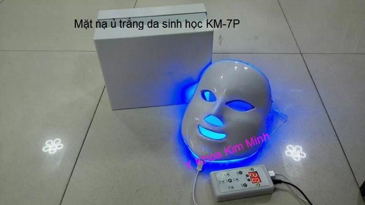 Den mat na anh sang sinh hoc cham soc da Bio Led KM-7P có 7 màu Y Khoa Kim Minh