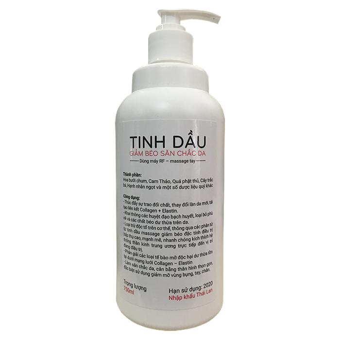 Dau massage giam beo san chac da nhap khau Thai Lan di may RF cavitation lipo hifu