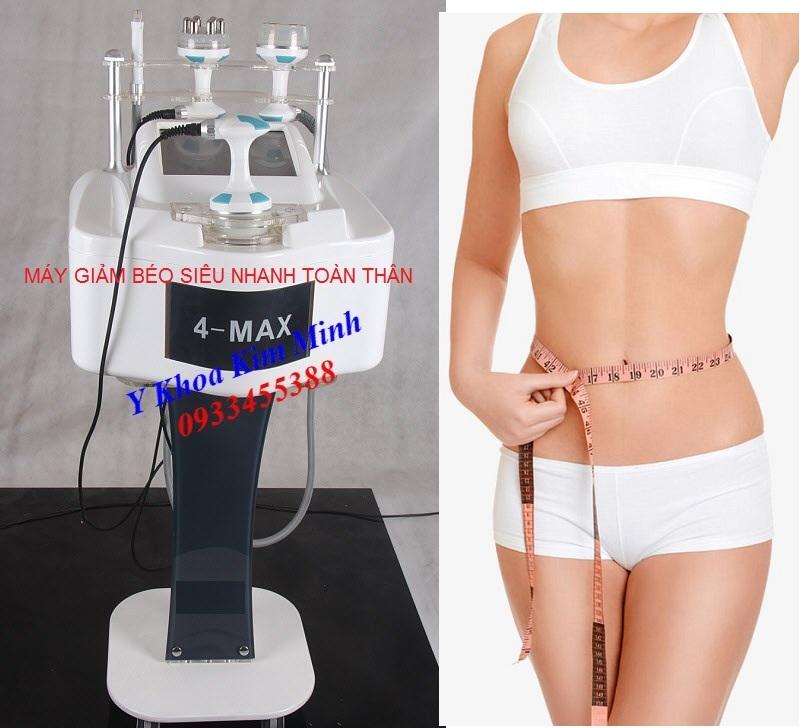 Địa chỉ bán máy giảm béo cấp tốc RF Cavitaion 40K 4 Max tại Tp Hồ Chí Minh - Y Khoa Kim Minh 0933455388
