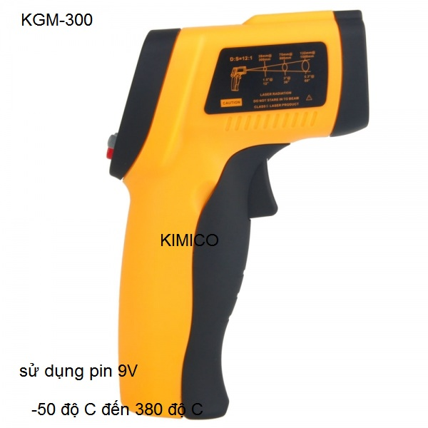 Máy đo thân nhiệt và đo nhiệt độ công nghiệp KGM-300