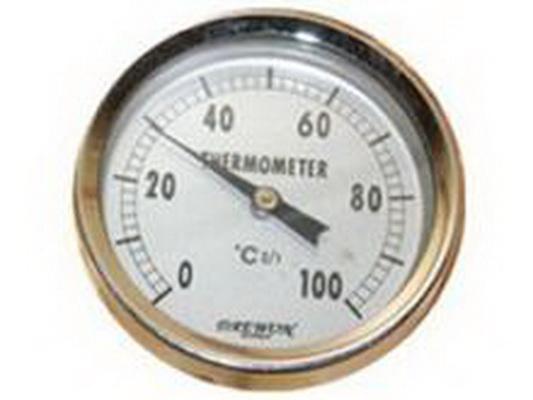 Đồng hồ đo nhiệt độ của phòng xông nóng Sauna