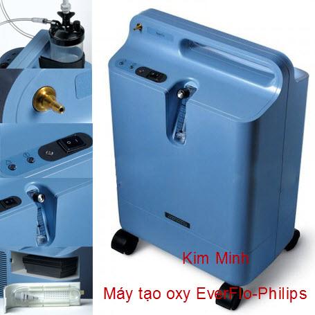 Máy tạo oxy 5 lít y tế EverFlo Philips