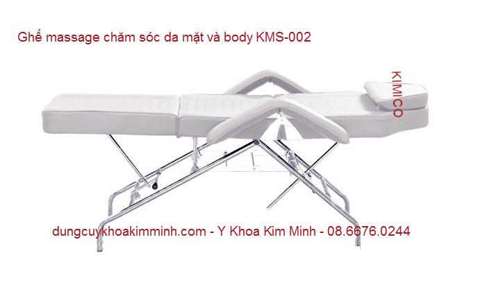 Ghe massage cham soc da mat va tham my Spa KMS-002 Y Khoa Kim Minh
