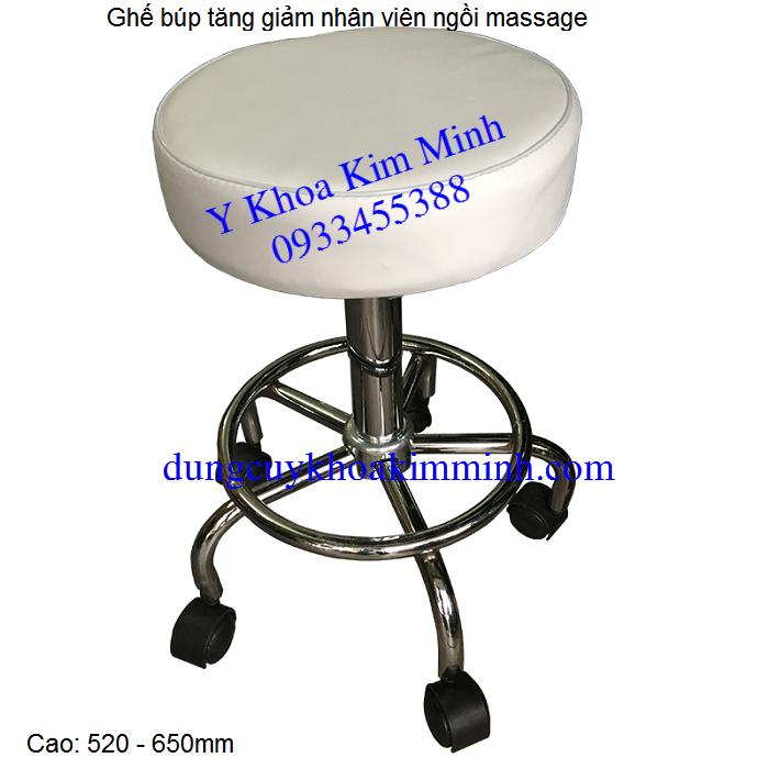 Ghe bup nhan vien massage cham cuu ngoi Y Khoa Kim Minh