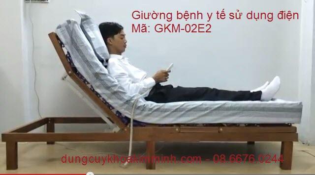 giường điện y tế dùng dưỡng bệnh tại nhà GKM-02E2