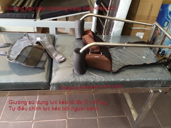 Giường kéo cột sống điện KMK021 Y Khoa Kim Minh