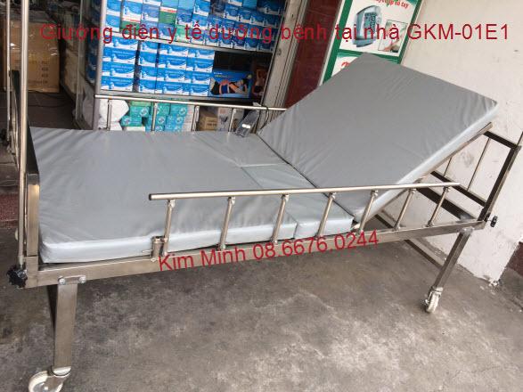 Giường bệnh viện sử dụng điều khiển điện GKM-01E1