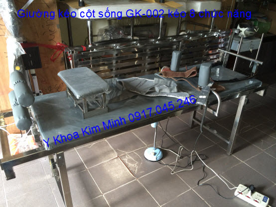 giuong keo dan cot song lung co GK-002 bằng điện