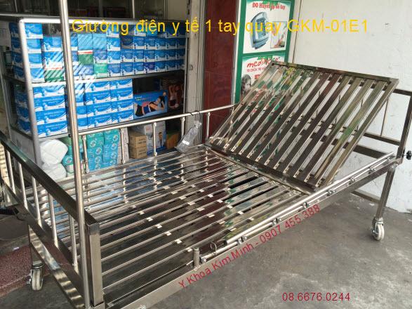 Giường điện y tế Việt Nam GKM-01E1