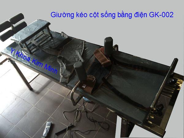 Giường kéo cột sống bằng điện GK-002