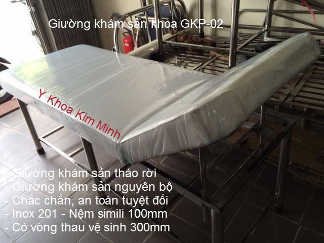 Giường khám sản phụ GKP-02