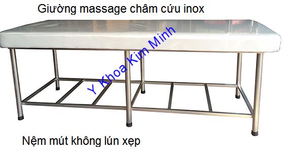 Cong ty san xuat giuong massage cham cuu ban gia si tai Y Khoa Kim Minh